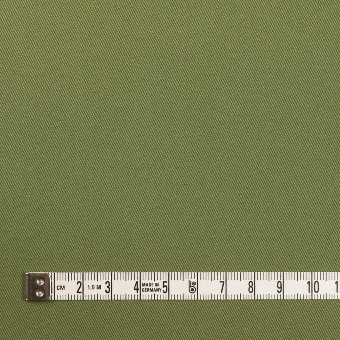 コットン&ポリウレタン×無地(フォレストグリーン)×チノクロス・ストレッチ イメージ4