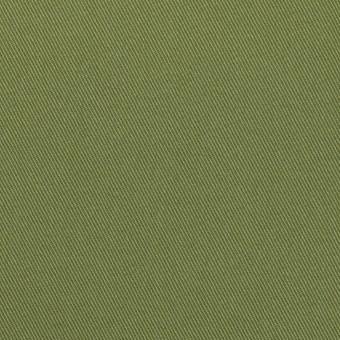 コットン&ポリウレタン×無地(フォレストグリーン)×チノクロス・ストレッチ