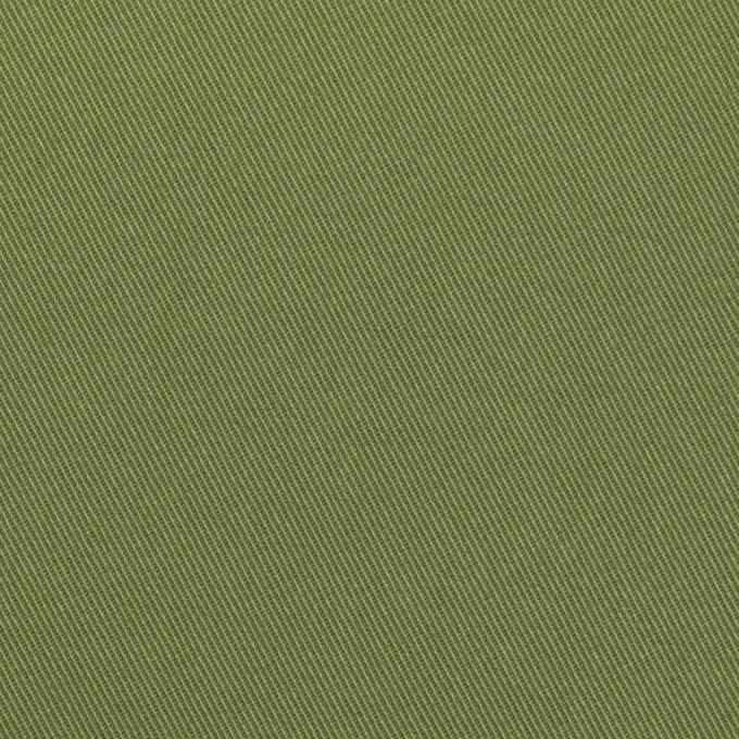コットン&ポリウレタン×無地(フォレストグリーン)×チノクロス・ストレッチ イメージ1
