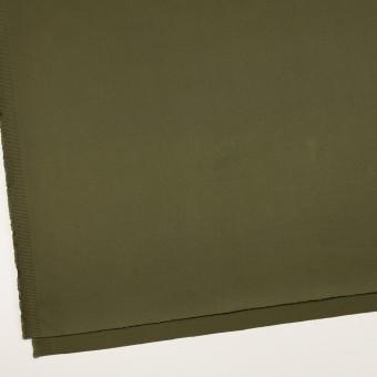 コットン×無地(ディープカーキグリーン)×二重織 サムネイル2