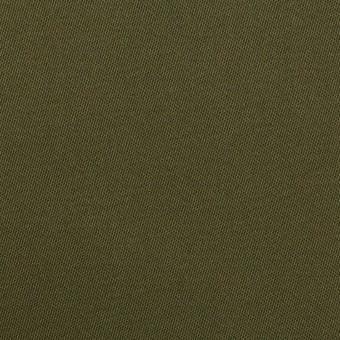 コットン×無地(ディープカーキグリーン)×二重織 サムネイル1