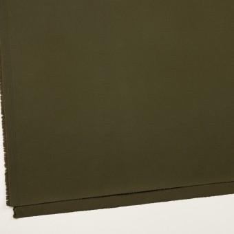 コットン&ポリウレタン×無地(ダークカーキグリーン)×チノクロス・ストレッチ サムネイル2