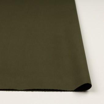 コットン&ポリウレタン×無地(ダークカーキグリーン)×チノクロス・ストレッチ サムネイル3