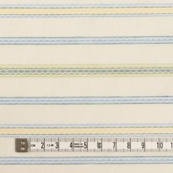コットン×ボーダー(クリーム、サックス&イエローグリーン)×ボイルドビー サムネイル4