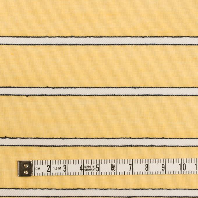 コットン&レーヨン×ボーダー(シトロン)×ボイルドビー イメージ4