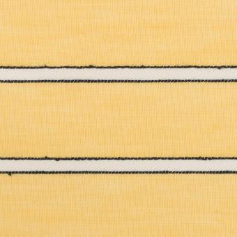 コットン&レーヨン×ボーダー(シトロン)×ボイルドビー