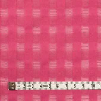 コットン×チェック(チェリー)×ボイルジャガード サムネイル4