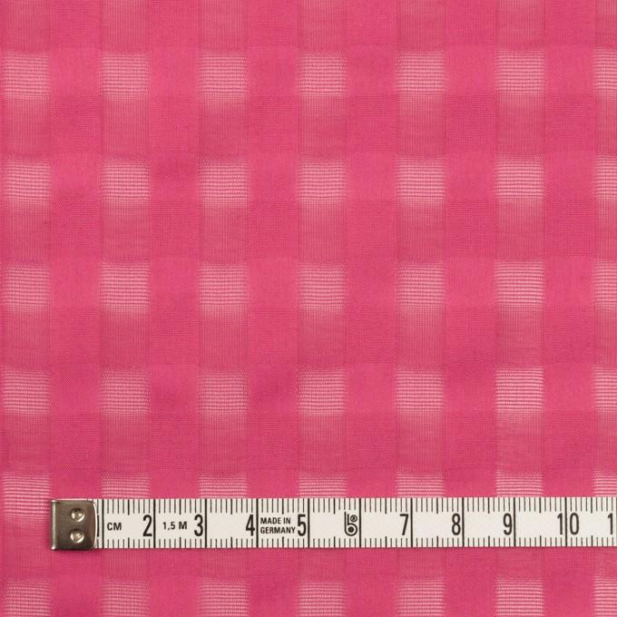 コットン×チェック(チェリー)×ボイルジャガード イメージ4