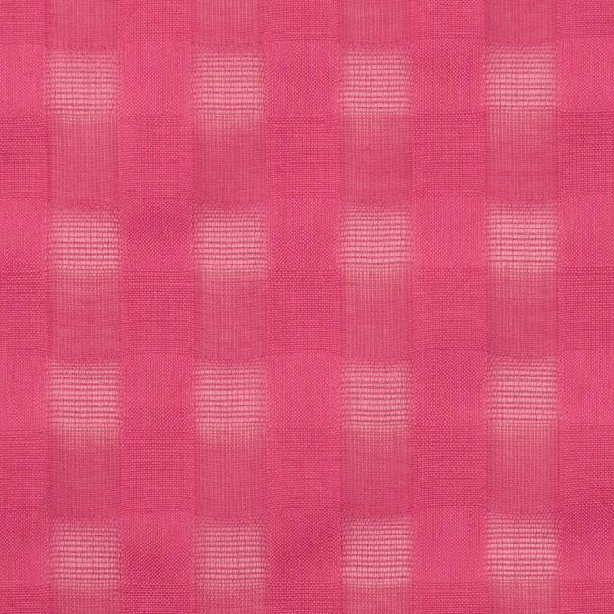 コットン×チェック(チェリー)×ボイルジャガード イメージ1