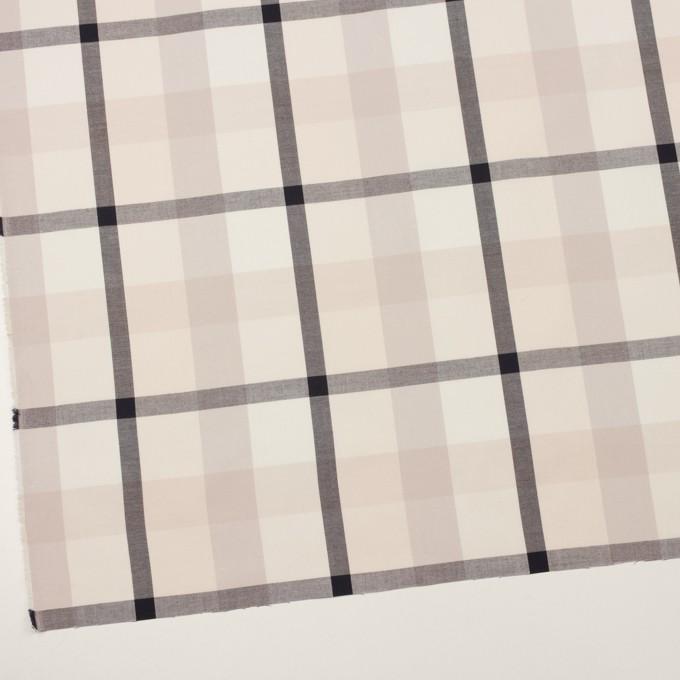 コットン×チェック(アイボリー&オイスターグレー)×サージ_全2色 イメージ2