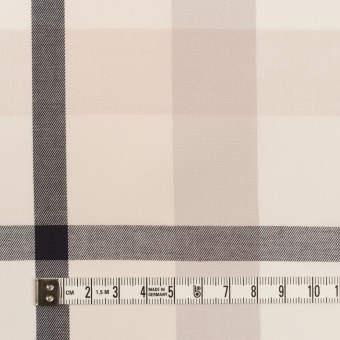 コットン×チェック(アイボリー&オイスターグレー)×サージ_全2色 サムネイル4