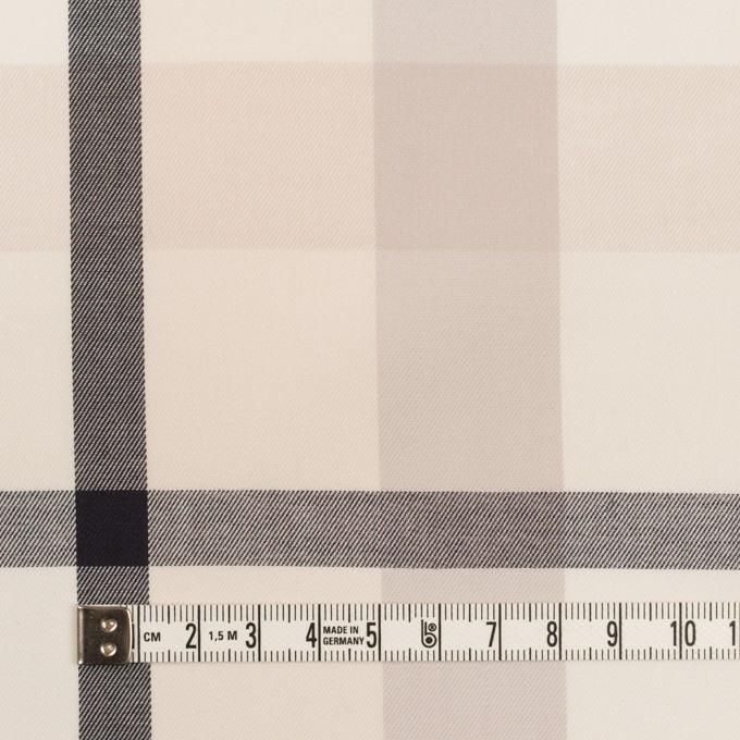 コットン×チェック(アイボリー&オイスターグレー)×サージ_全2色 イメージ4