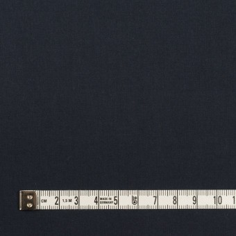 コットン×無地(アッシュネイビー)×タイプライター(高密ローン)_イタリア製 サムネイル4