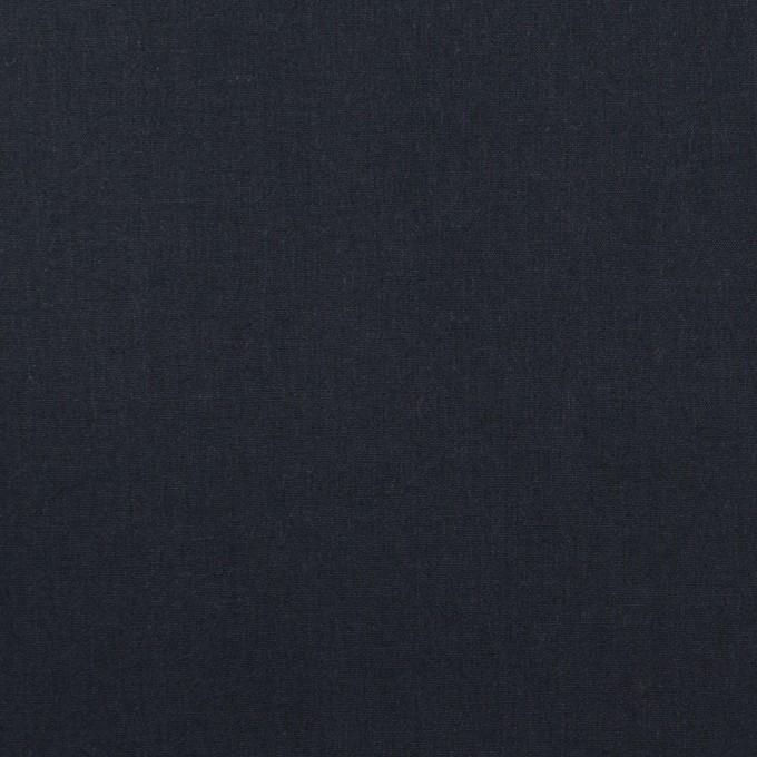 コットン×無地(アッシュネイビー)×タイプライター(高密ローン)_イタリア製 イメージ1