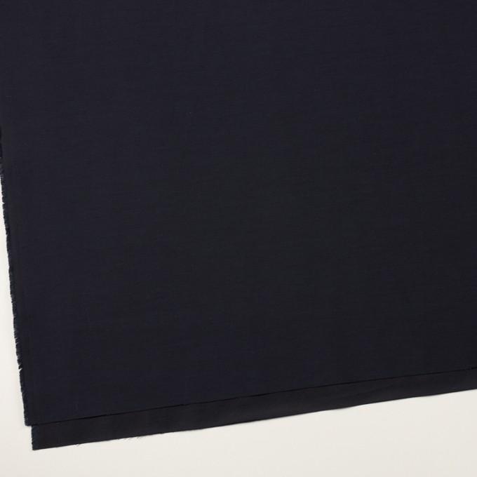 コットン&キュプラ×無地(ネイビー)×二重織 イメージ2