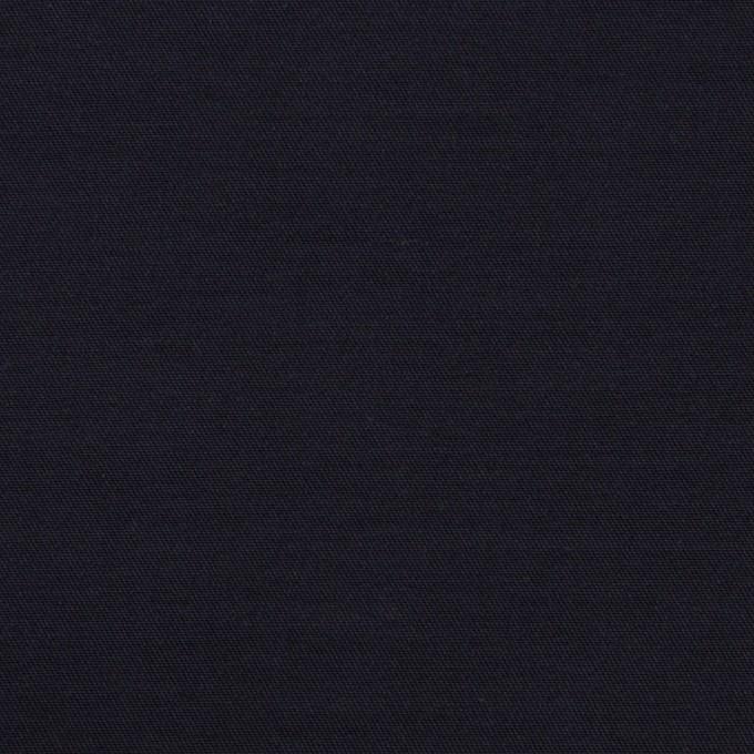 コットン&キュプラ×無地(ネイビー)×二重織 イメージ1