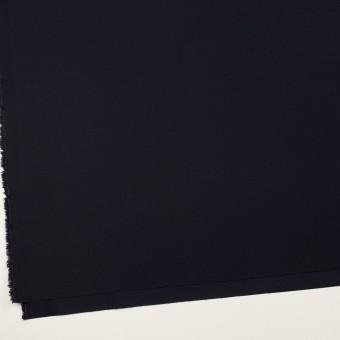 コットン&ポリウレタン×無地(ダークネイビー)×二重織ストレッチ サムネイル2