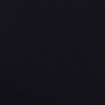 コットン&ポリウレタン×無地(ダークネイビー)×二重織ストレッチ サムネイル1