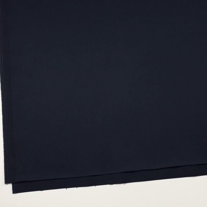 コットン&ポリウレタン×無地(ネイビー)×チノクロス・ストレッチ イメージ2
