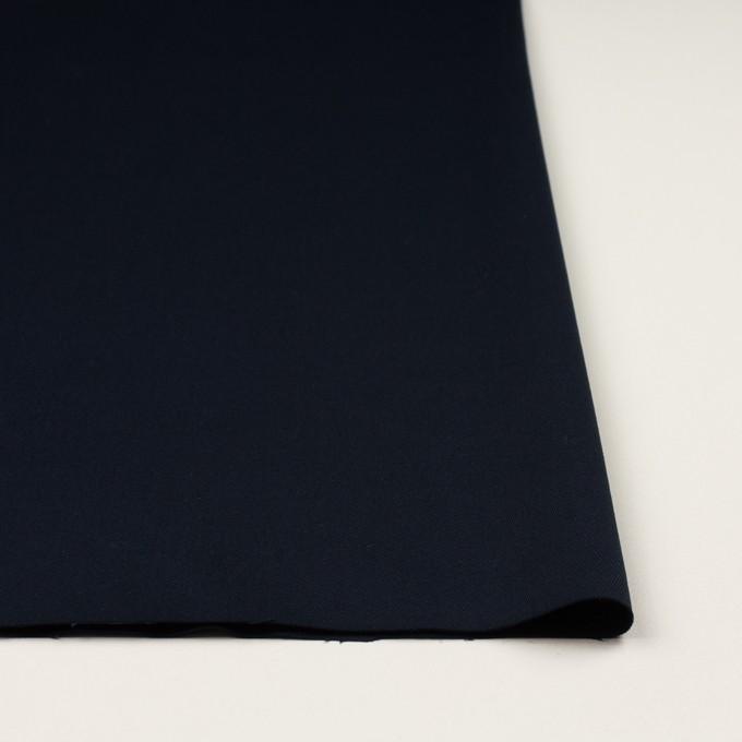 コットン&ポリウレタン×無地(ネイビー)×チノクロス・ストレッチ イメージ3