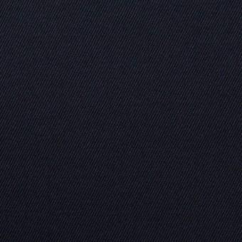 コットン&ポリウレタン×無地(ネイビー)×チノクロス・ストレッチ