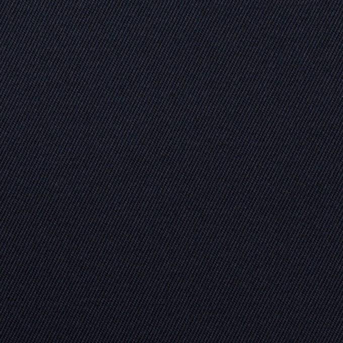 コットン&ポリウレタン×無地(ネイビー)×チノクロス・ストレッチ イメージ1