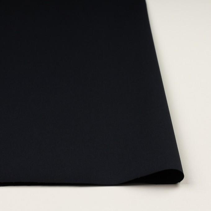 コットン&ポリウレタン×無地(ダークネイビー)×チノクロス・ストレッチ イメージ3