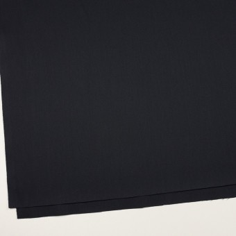 コットン&ポリエステル混×無地(ダークネイビー)×チノクロス・ストレッチ サムネイル2