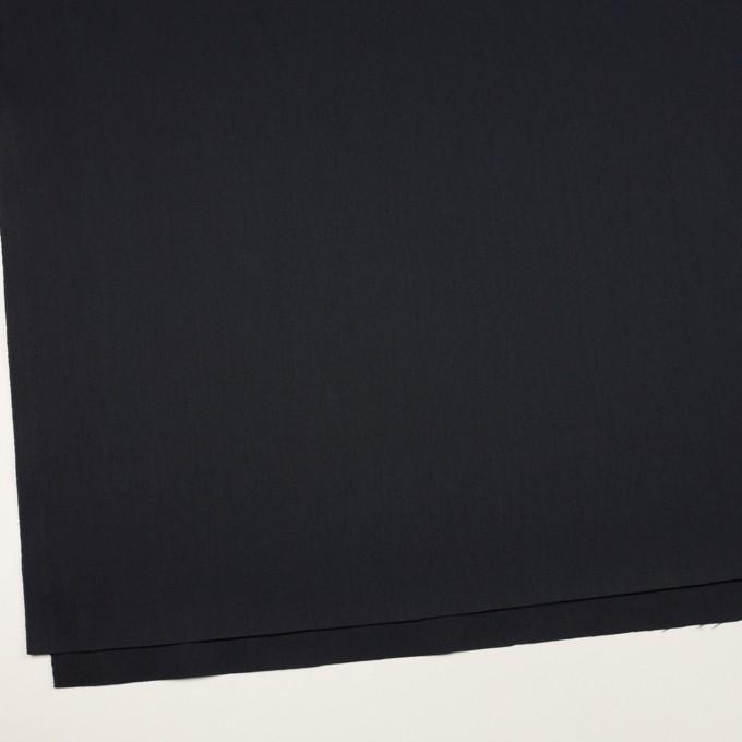 コットン&ポリエステル混×無地(ダークネイビー)×チノクロス・ストレッチ イメージ2