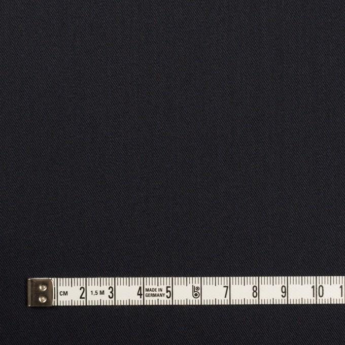 コットン&ポリエステル混×無地(ダークネイビー)×チノクロス・ストレッチ イメージ4
