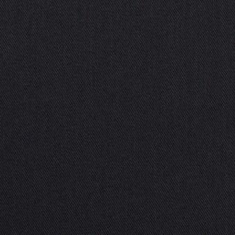 コットン&ポリエステル混×無地(ダークネイビー)×チノクロス・ストレッチ