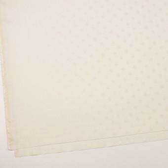 コットン&シルク×水玉(エクリュ)×二重織ジャガード サムネイル2