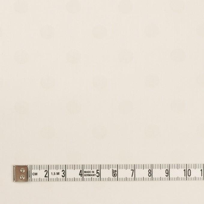 コットン&シルク×水玉(エクリュ)×二重織ジャガード イメージ4
