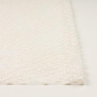 コットン&キュプラ混×サークル(エクリュ)×オーガンジー・カットジャガード_全2色 サムネイル3