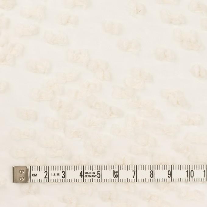 コットン&キュプラ混×サークル(エクリュ)×オーガンジー・カットジャガード_全2色 イメージ4