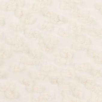 コットン&キュプラ混×サークル(エクリュ)×オーガンジー・カットジャガード_全2色 サムネイル1