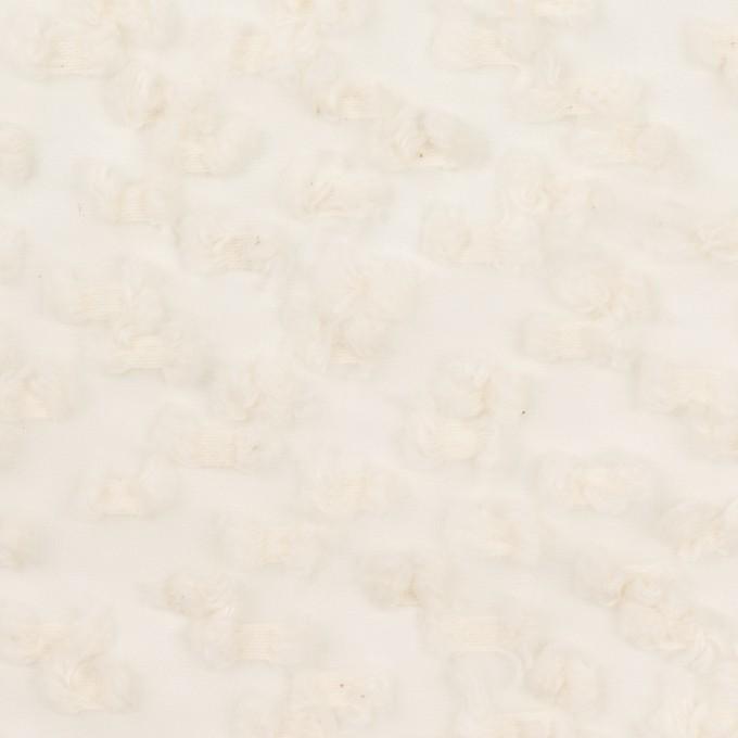 コットン&キュプラ混×サークル(エクリュ)×オーガンジー・カットジャガード_全2色 イメージ1