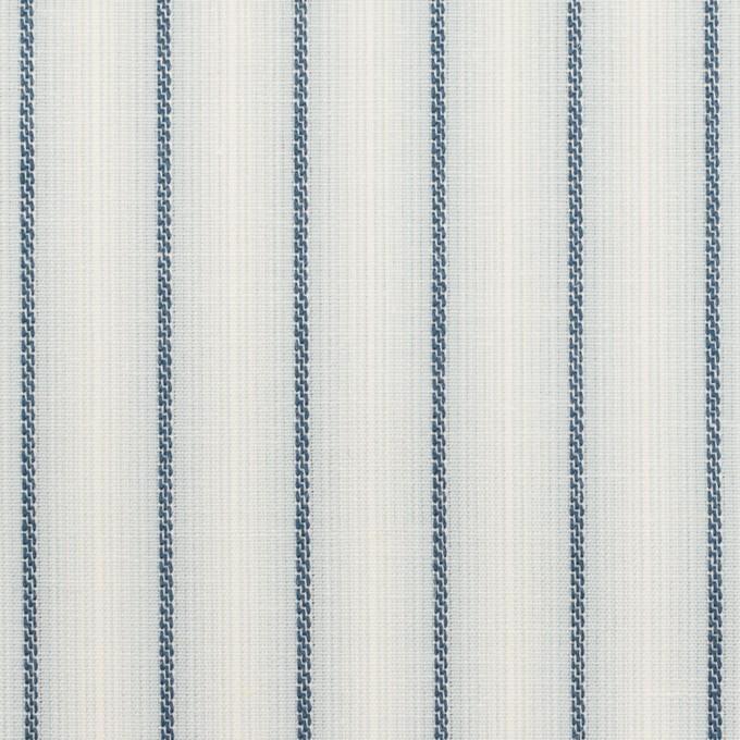 コットン&リネン×ストライプ(ブルーグレー)×ポプリンジャガード_全2色 イメージ1
