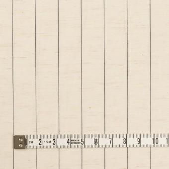コットン&リネン×ストライプ(エクリュ&ブラック)×ポプリン サムネイル4