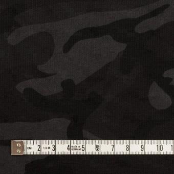 コットン&ポリウレタン×迷彩(チャコール)×コード織ストレッチ サムネイル4