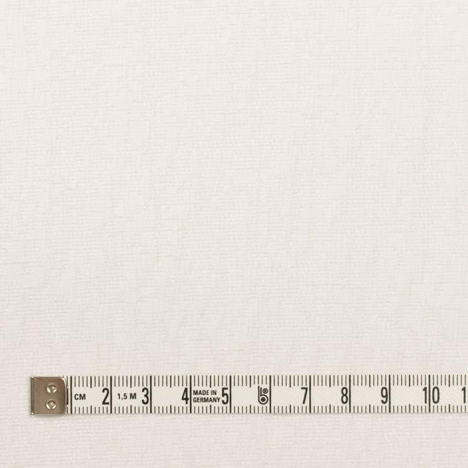 ポリエステル&レーヨン混×幾何学模様(ミルク)×フクレジャガード・ストレッチ イメージ4