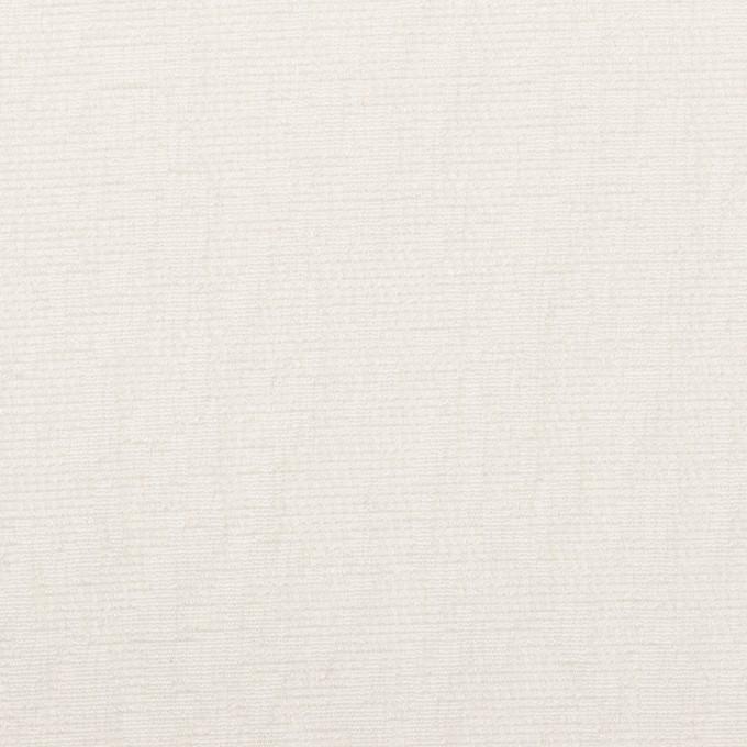 ポリエステル&レーヨン混×幾何学模様(ミルク)×フクレジャガード・ストレッチ イメージ1