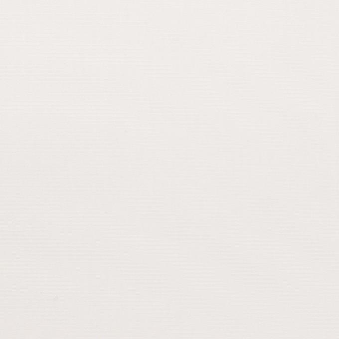 コットン×無地(ホワイト)×ブロード_イタリア製 イメージ1