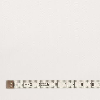 コットン×無地(ホワイト)×ヘリンボーン サムネイル4