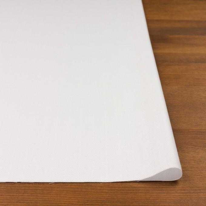 コットン×無地(ホワイト)×ヘリンボーン イメージ3