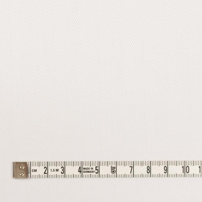 コットン×無地(ホワイト)×ヘリンボーン イメージ4