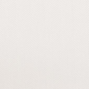 コットン×無地(ホワイト)×ヘリンボーン