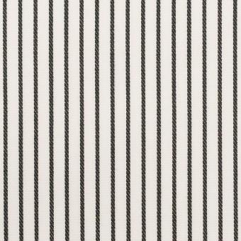 コットン×ストライプ(チャコール+ピンク&パープル)×ブロードジャガード_全2色 サムネイル1