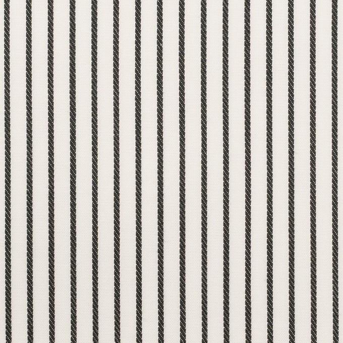 コットン×ストライプ(チャコール+ピンク&パープル)×ブロードジャガード_全2色 イメージ1