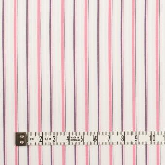 コットン×ストライプ(ピンク)×ブロードジャガード_全2色 サムネイル4